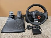 Logitech Driving Force Gt E-x5c19 Steering Wheel With Pedals