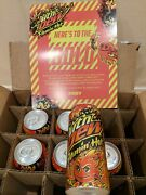 Mountain Mtn Dew Flaminand039 Flaming Hot Limited Edition 6-pack - In Hand Free Ship