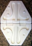 Vintage 1986 Scioto S-1192 Easel For Table Ornaments Ceramic Mold B12a
