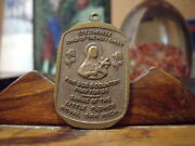 St. Therese Child Of The Hold Gost Medallion Shrine Of The Little Flower-dove