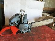 Homelite Super Wiz 55 Chainsaw For Parts Or Repair