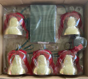 New 2009 Vintage Mr. Christmas 5 Lighted Musical Jingle Bells Plays 30 Songs