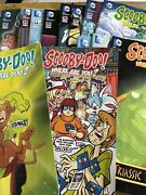 Scooby Doo Where Are You Comic Lot Of 16 Dc Shaggy Fred Velma Daphne Htf