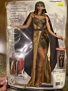 Men And Womens Matching Halloween Costumes Gypsy And Pharaoh Mens Med Wom Sm