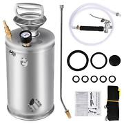 New 1and3 Gallon Handheld Stainless Steel Sprayer Home Gardening Ground Cleaning
