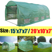 Greenhouse 20′x10′x7′ Large Portable Walk-in Hot Green House Plant Gardening