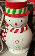 Partylite Scentglow Icy Snowman Warmer Room Fragrancer -retired