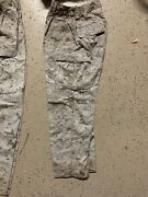 Us Marine Corps Desert Marpat Camouflage Combat Pants Trousers Small Extra Short