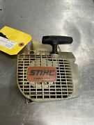 Oem Good Used Stihl 025 Chainsaw Ready To Work Recoil Starter Assy 1123084 1001
