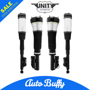 Front And Rear Air Strut Assembly Kit Set Of 4 For Mercedes S430 S500 S350 S600