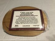 New Factory Sealed Longaberger Lid For Lucky Charm Basket 59285