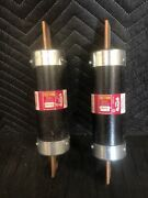2 Bussmann Frs-r-350 Fusetron Class Rk5 Dual Element Fuse New Old Stock No Box