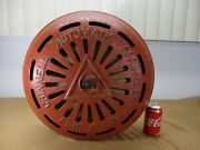 Vintage Enormous Cast Iron Grinnell Automatic Sprinkler Fire Alarm Bell C 1920's