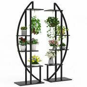 5-tier Plant Stand Pack Of 2, Indoor Multilayer Potted Planters Display Rack Us