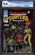 Tmnt Adventures 1 Cgc 9.4 White Archie, 1988 1st Krang, Bebop, And Rocksteady
