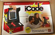 New Sealed Ion Icade Arcade Video Game Bluetooth Cabinet For Ipad Tablet Atari