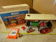Vintage Mamod Te1a Functional Steam Engine Farm Tractor Model Kit Set. Nos