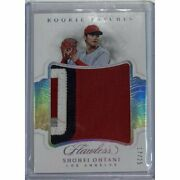 Jersey No. Limited To 17/25 Sheets Shohei Otaniand039s Extra-large 4-color Rookie
