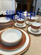 Rare Discontinued Wedgwood Paris Full Course 25 Plate Piece