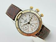 Paul Picot U-boot Chronograph Steel/gold 1 13/32in Ref 4013 Lemania 1873