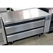 Silver King Skrcb50h Refrigerated Chef Base 50 X 31 X 26 2 Drawer Casters