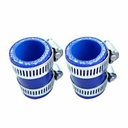 Blue Exhaust Pipe Clamps For Yamaha Banshee 1987-2006 Factory Dg Fmf Toomey