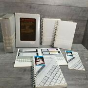 Vtg Computer Tandy 1000 Guide Deskmate Reference Manual Fundamentals Ms-dos