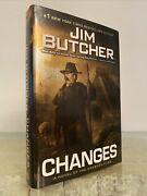 Changes By Jim Butcher A Novel Of The Dresden Files 1st Ed 1st Print Hardcover