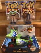 Disney Toy Story 4 Rc Free Wheel Buggy 9 Woody 7 Buzz Lightyear Action Figures