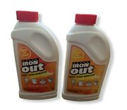Super Iron Out Rust Stain Remover Lot Of 2 1 Lb 14 Oz Containers Nos