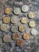 Coin Lot Of Collector, Historical, And Old Coins. 1935 Silver Quarter And More