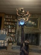 Antique Black Forest Carved Bear Hall Tree/stand 1880-1910