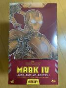 Hot Toys Diecast Iron Man Mark With Powered Suit Mounting Machine