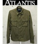 Chrome Hearts Ginza Store Military Shirt Quilting Silk Lining Jacket Cross