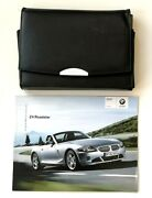 2005 Bmw Z4 Roadster Owners Manual 13 Brochures Inserts Case Plus Accessories