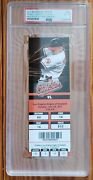 Mike Trout First Mlb Home Run Full Ticket 2011 Psa 6 Rare