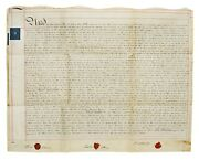 Early 19th Century 1808 Legal Indenture/assignment Of William Stead On Vellum