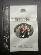 Backstreet Boys The Official Book Vintage Printed July 2000 Andre Csillag