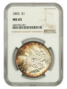 1892 1 Ngc Ms65 - Better Date P-mint -