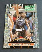 1992 Stadium Club Shaquille O'neal Beam Team Members Only Rookie Card - Magic