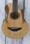 Yamaha 3/4 Size Apxt2ew Thinline Acoustic Electric Guitar Natural With Gig Bag