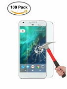 50/100 Pack Tempered Glass Screen Protector For Googel Pixel And Google Pixel Xl