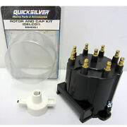 Mercruiser New Oem Distributor Cap And Rotor Kit 808483q1 V8 Delco 1997 And Older