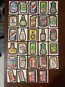 Lot Of 29 Topps 1980 Wacky Packages Cards Stickers Nice All Listed And Shown