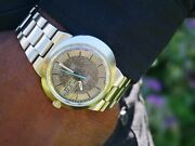 Vintage Omega Wrist Watch Geneve Dynamic Marble Dial Menand039s 1960and039s Automatic