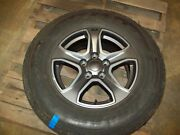 Good Used 2018-20 Jeep Jl Wrangler 17 X 7.5 Aluminum Wheels And Goodyear Tires