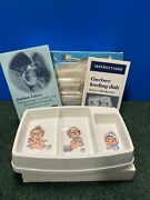 Vintage Gerber Hot 'n Cold Feeding Dish Deluxe Electric And Cover Model 3718 Works