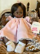 Madame Alexander 1977 African American Pussy Cat Baby Doll Mint