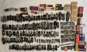 Huge Lot 199 Pieces Vintage Electron Vacuum Tubes Used And And New Various Brands