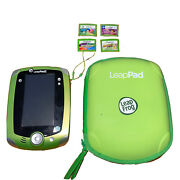 Leapfrog Leappad 2 Explorer Learning System With 4 Games Case Green Videos